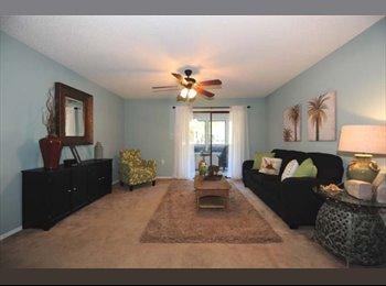 EasyRoommate US - 2 bedroom, 2 bathroom lovely apartment - Orlando - Orange County, Orlando Area - $1000