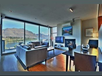 NZ - Luxury fully furnished room w king bed & ensuite - Queenstown-Lakes, Queenstown-Lakes - $300