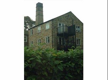 EasyRoommate UK - Single or 3/4 room available in a 2 bedroom flat - Holmfirth, Kirklees - £380