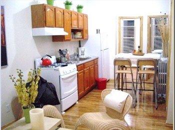 Great Room in 4 bedrooms/2 bathroom appartment!
