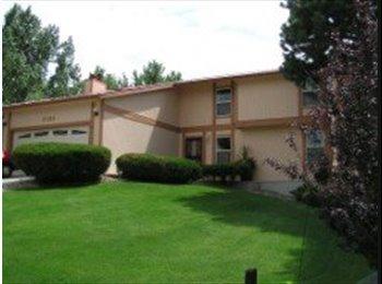 EasyRoommate US - N/E Gorgeous Home in Quiet Neighborhood - Colorado Springs, Colorado Springs - $550