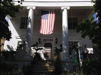 Third floor in Historic Home  800sq ft.