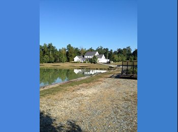 EasyRoommate US - Private room with private bath private entrance , exclusive property on 50 acres beautiful  - Greensboro, Greensboro - $1000