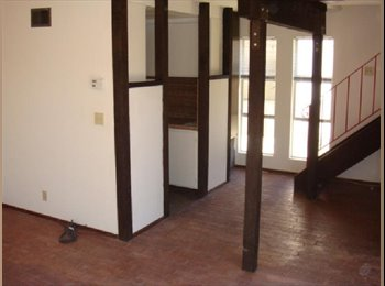 One bedroom apartment with loft.
