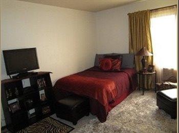 One bedroom at Ambassador west
