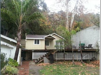 EasyRoommate US - Small Room for Rent in Laguna Canyon Bungalow - Laguna Beach, Orange County - $675