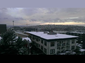 EasyRoommate US - Room for rent in condo. Stunning Views outside br - Capitol Hill, Seattle - $885