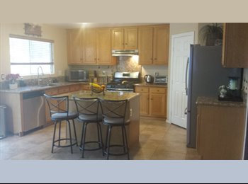 EasyRoommate US - **** Room for rent $425.00 a month - Silverado Ranch, Las Vegas - $425