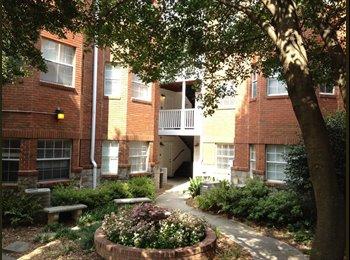 EasyRoommate US - Subleasing a room in 2Br/2Bath apt (summer 2015) - Midtown, Atlanta - $800