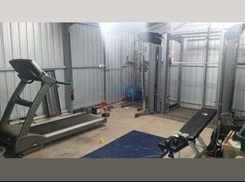 EasyRoommate AU - room for rent, big commercial gym, close to beach - Port Noarlunga, Adelaide - $175 pw