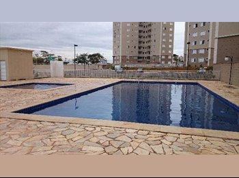 Quarto Goiania 2 Duplex cobertura mobiliado