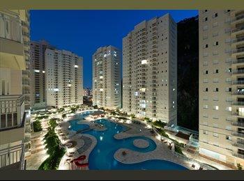 EasyQuarto BR - Quarto condominio Resort Clube amb familiar Marape - Santos, RM Baixada Santista - R$ 900 Por mês
