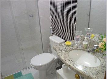 quarto e banheiro para mulher