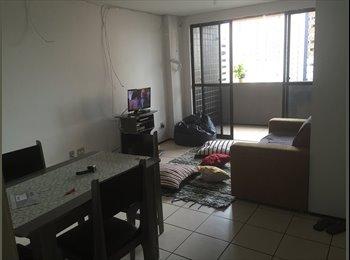 EasyQuarto BR - ALUGA QUARTO NA PRAIA DE IRACEMA - Fortaleza, Fortaleza - R$ 650 Por mês