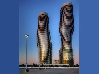 EasyRoommate CA - One Bedroom for Rent - Luxury Condo - Mississauga, South West Ontario - $850 pcm