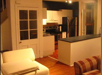 EasyRoommate CA - Sublet in Beautiful Victorian House Fully Furnishd - Centre Ville, Montréal - $650 pcm