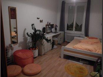 EasyWG CH - grande chambre dans une collocation de 2 personnes - Fribourg, Saane - Sarine - 600 CHF / Mois