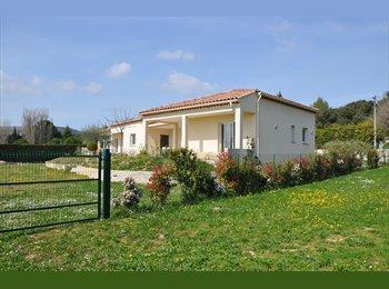 Appartager FR - Chambre libre pour courte duree de preference - Saint-Bauzille-de-Montmel, Montpellier - 450 € / Mois