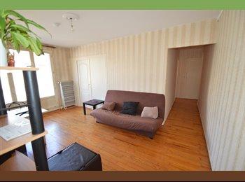 Métro République chambre maison meublé 6mm La Doua