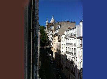 Appartager FR - L'appartement est libre. - 18ème Arrondissement, Paris - Ile De France - 600 € / Mois