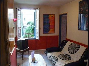 F2 très calme centre furnished flat very safe area