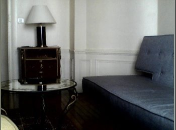 Appartager FR - Loue chambre meublée Paris 18, 4 mois maxi - 18ème Arrondissement, Paris - Ile De France - 450 € / Mois