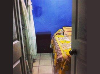 CompartoDepa MX - rento cuarto (recamara) comoda y limpia - Xalapa, Xalapa - MX$1,500 por mes