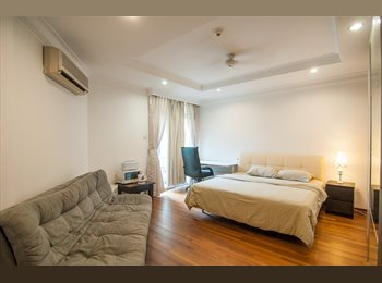 Master Bedroom with balcony in Orchard