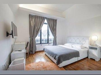 EasyRoommate SG - Dream Home: 3 Jalan Sayang Beauty Common Room - Kembangan, Singapore - $1,600 pcm