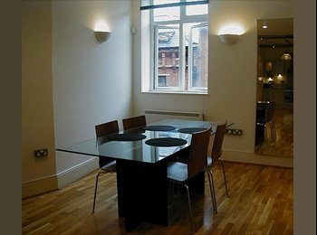 Luxury 2 bed Flat in Central Leicester LE1