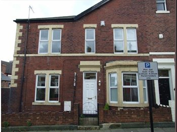 EasyRoommate UK - Three rooms available to rent in Sandyford. - Jesmond, Newcastle upon Tyne - £300 pcm