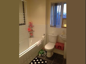Cheap double bedroom with ensuite in shared house