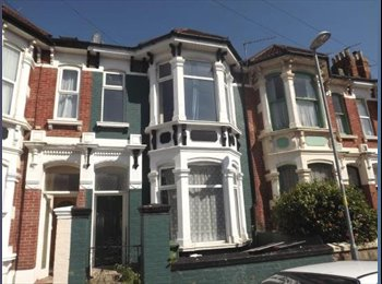 Large House in Southsea - 6 Double rooms inc bills