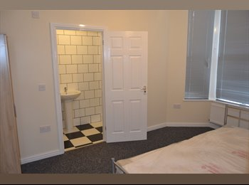 EasyRoommate UK - Fantastic en-suite room in 8 bed house-FOR 2015/16 - Roath, Cardiff - £400 pcm