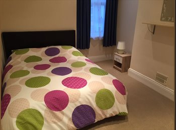 EasyRoommate UK - Double room to let in 2 bed house - Plymouth, Plymouth - £375 pcm