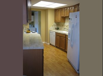 Rooms available in spacious condo