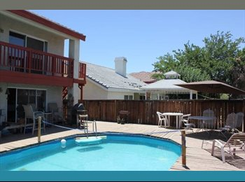 EasyRoommate US - Room for Rent in Victorville - Utilities Included - Victorville, Southeast California - $500 pcm