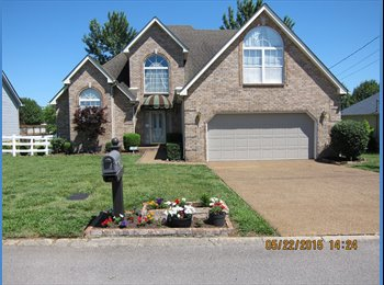 EasyRoommate US - BEAUTIFUL,SERENE,WON'T LAST 1400SF+ $800/MO 5ROOMS - Murfreesboro-SE Nashville, Nashville Area - $800 pcm