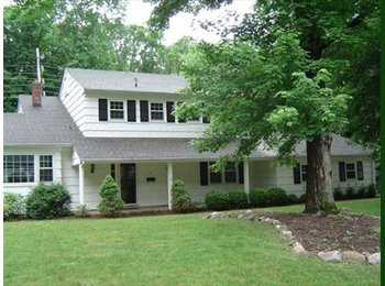 EasyRoommate US - SHARE FURNISHED HOUSE*INCLUDES ALL UTILITIES ***AV - Parsippany-Troy Hills, North Jersey - $1,200 pcm