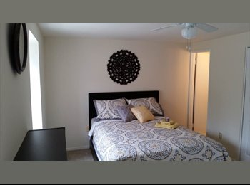 Beautifully Furnished Master Bedroom!