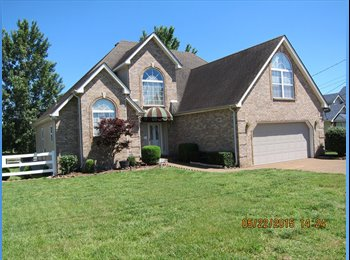 EasyRoommate US - PARKLIKE SERENE AMAZING 5 ROOMS +AMENITIES $800 - Murfreesboro-SE Nashville, Nashville Area - $800 pcm