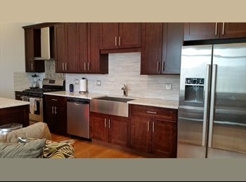 EasyRoommate US - New Apartment w/ Furnished Patio & Private Rooftop - West Town, Chicago - $900 pcm