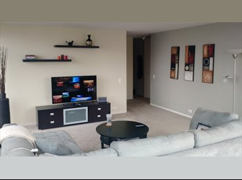 EasyRoommate US - 1bed/1bath in 2bed/2bath apt - Downtown Chicago - Chicago, Chicago - $1,375 pcm