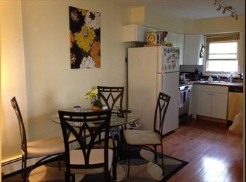 EasyRoommate US - $975 1BR In 2BR Apt-Spacious Apart in Grove Street - Exchange Place, Jersey City - $975 pcm