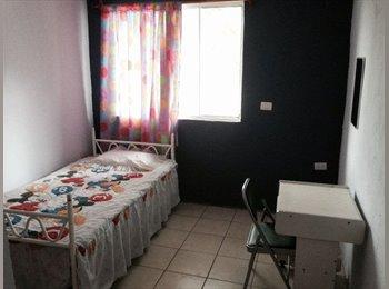 Se renta cuarto para señoritas, cerca de escuela...