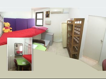 Bugis, near MRT, a small common room