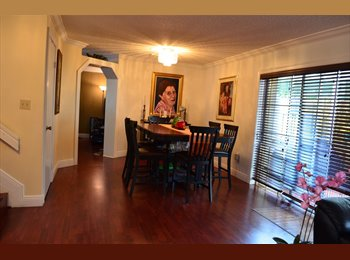 MASTER ROOM AVAILABLE on July10,2015