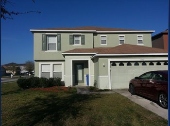 EasyRoommate US - Large House In Riverview - East Tampa, Tampa - $565 pcm
