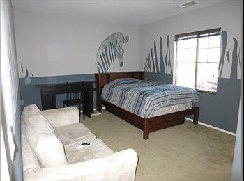 EasyRoommate US - Engineer Renting Room with Bathroom in W Lancaster - Antelope Valley, Los Angeles - $500 pcm