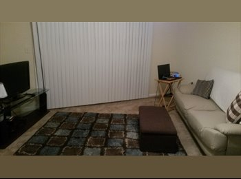 EasyRoommate US - Quiet Spacious Apartment - Southern Fulton County, Atlanta - $450 pcm
